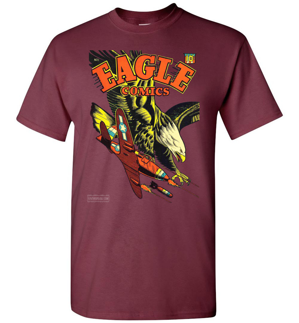 Eagle Comics No.1 T-Shirt (Unisex, Dark Colors)