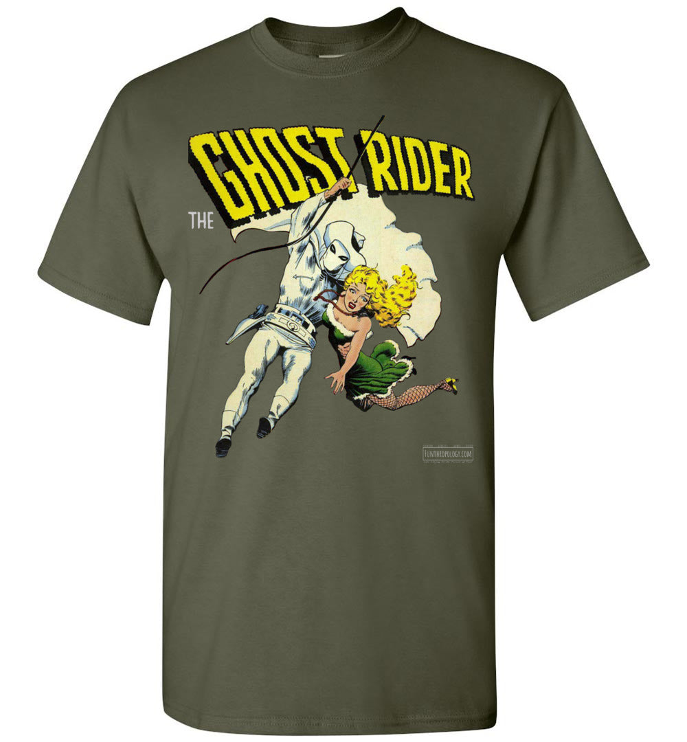The Ghost Rider No.5 T-Shirt (Unisex Plus, Dark Colors)