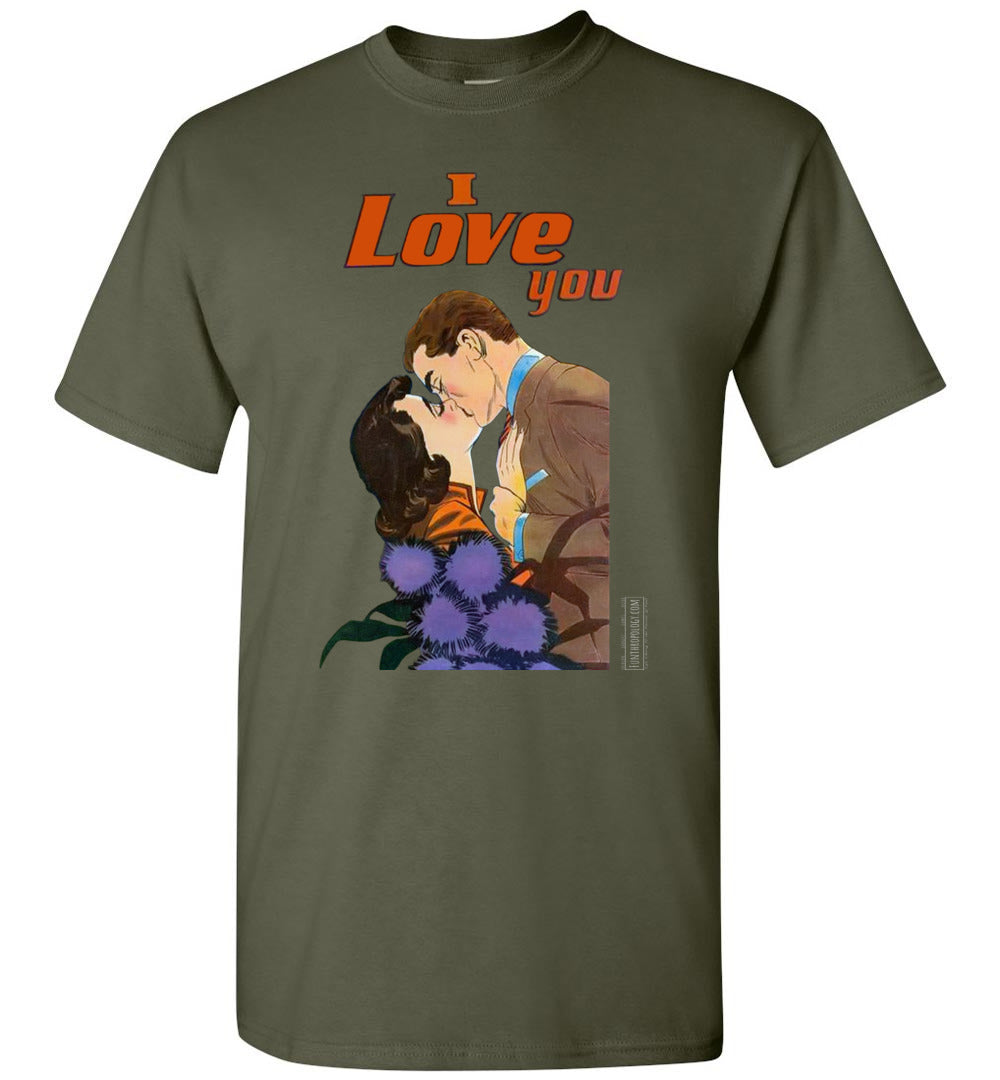 I Love You No.47 T-Shirt (Unisex, Dark Colors)
