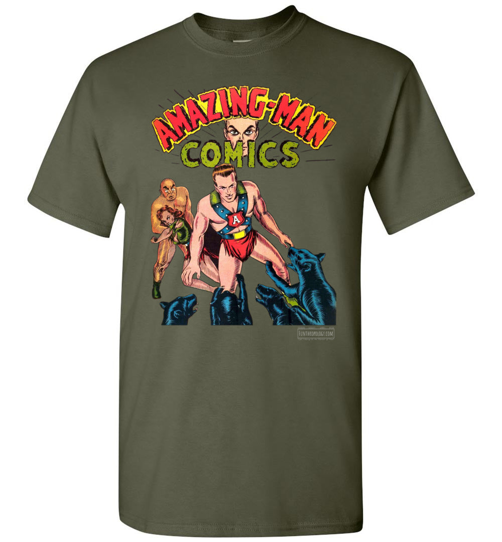 Amazing-Man Comics No.11 T-Shirt (Unisex, Dark Colors)
