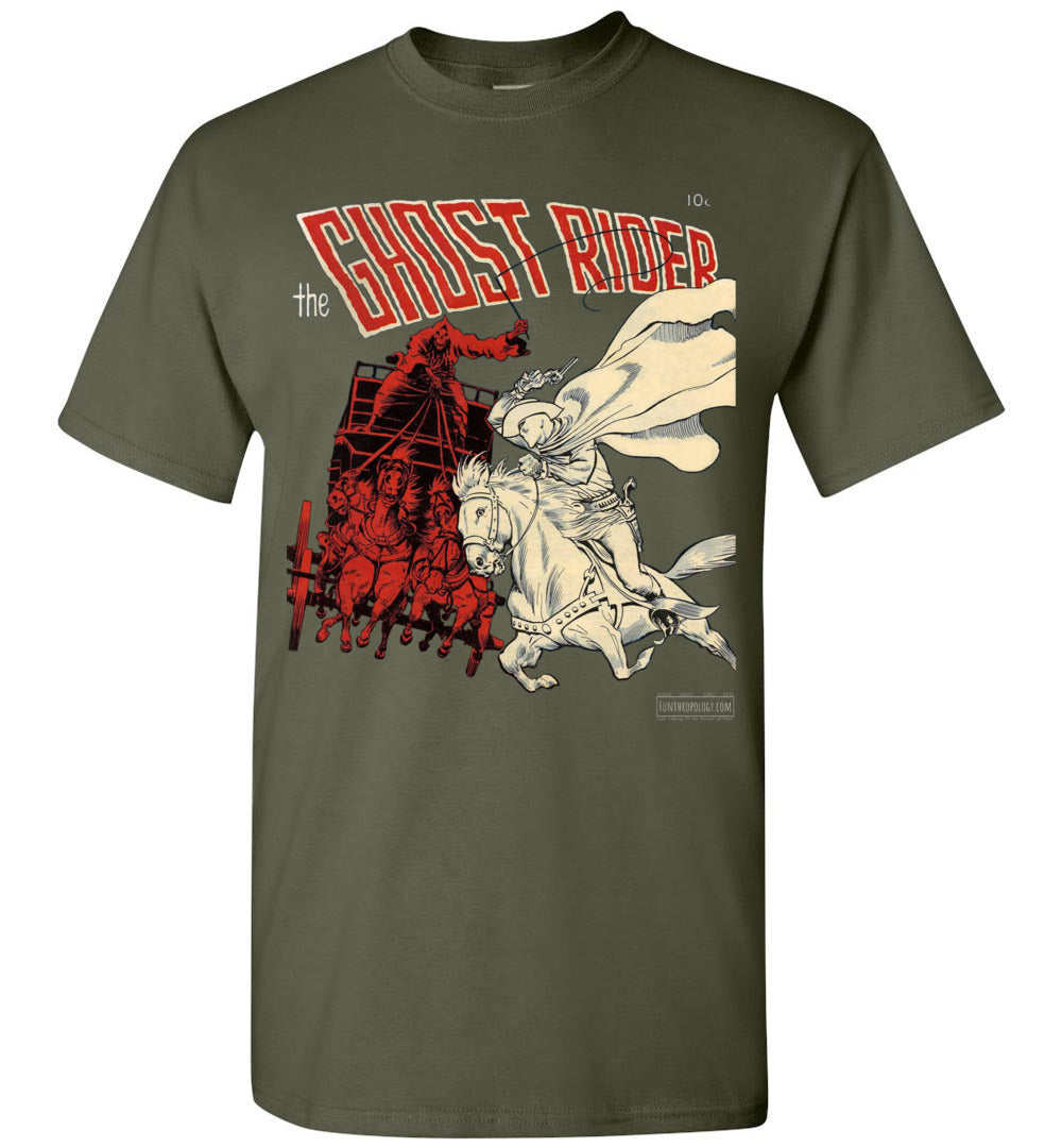 The Ghost Rider No.2 T-Shirt (Youth, Dark Colors)