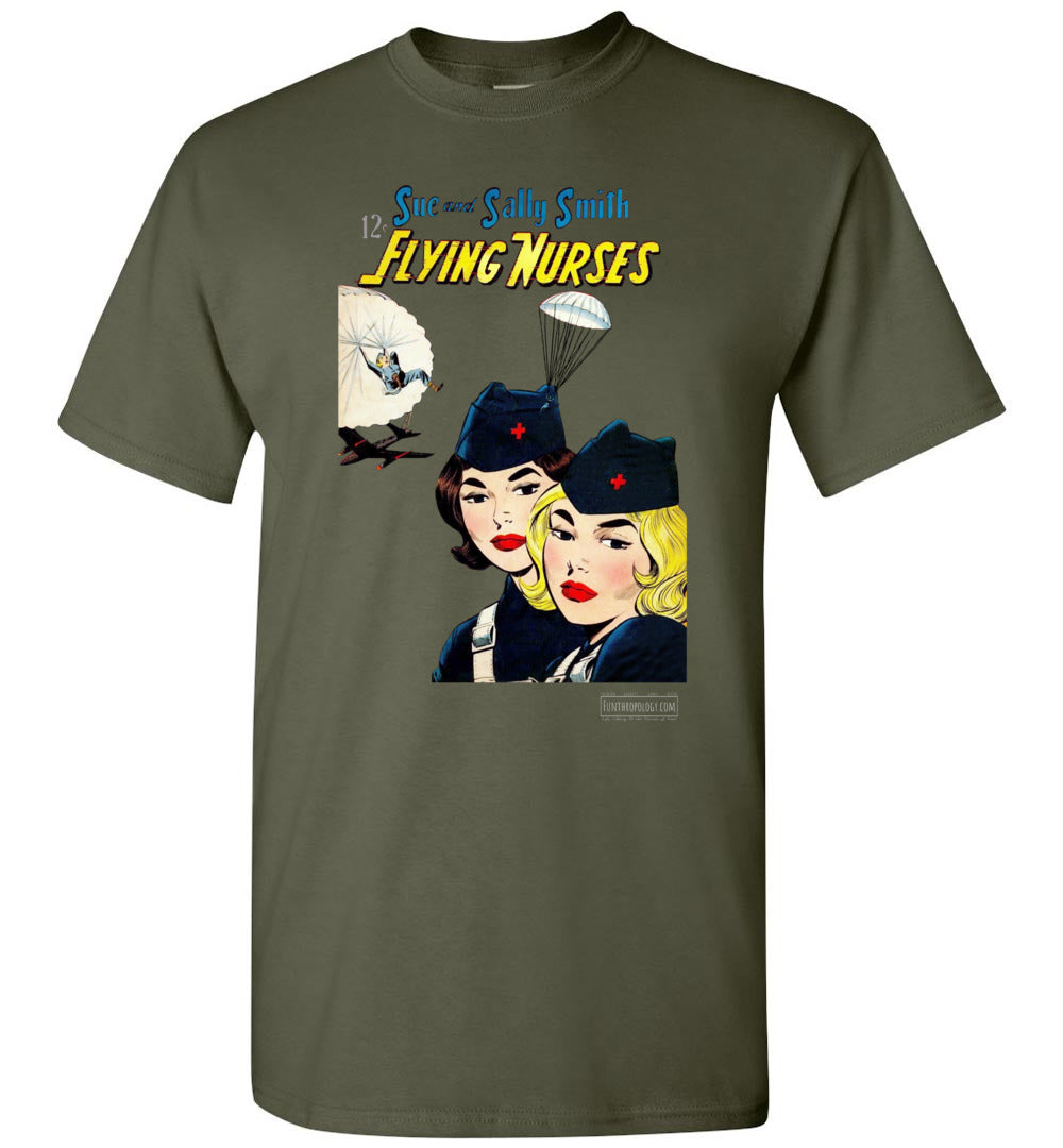 Flying Nurses No.52 T-Shirt (Unisex, Dark Colors)
