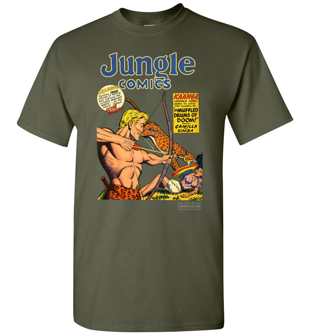 Jungle Comics No.118 T-Shirt (Unisex, Dark Colors)