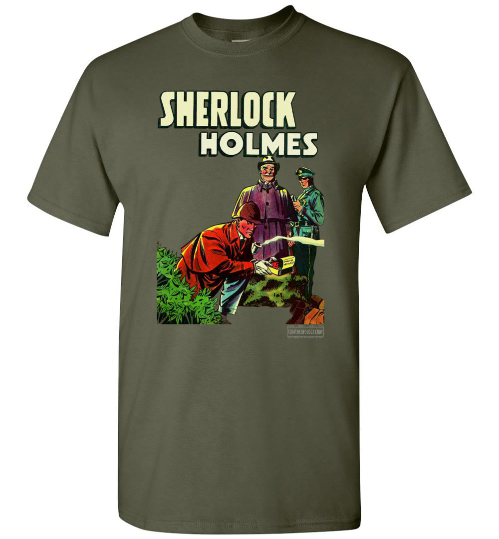 Sherlock Holmes No.1 T-Shirt (Unisex Plus, Dark Colors)