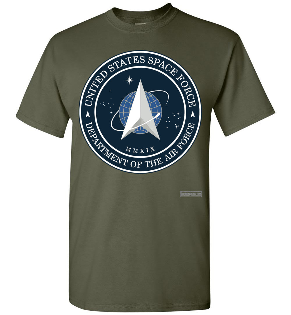 Space Force - Official Insignia T-Shirt (Unisex)