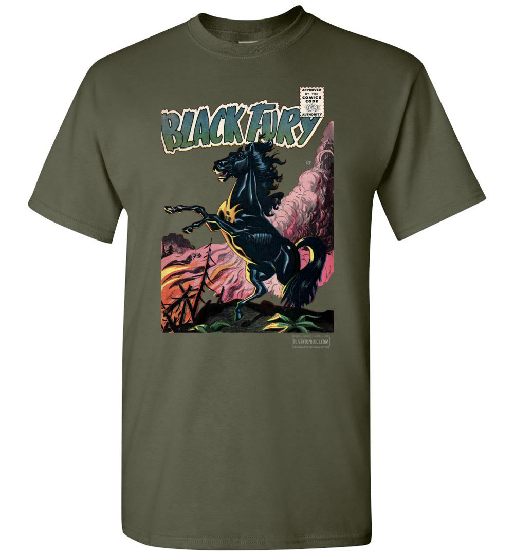 Black Fury No.1 T-Shirt (Unisex, Dark Colors)