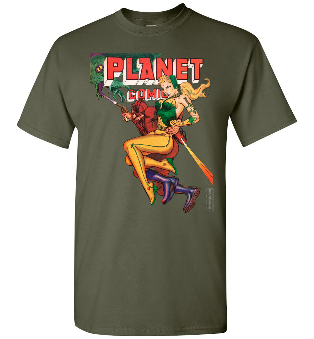 Planet Comics No.66 T-Shirt (Unisex, Dark Colors)