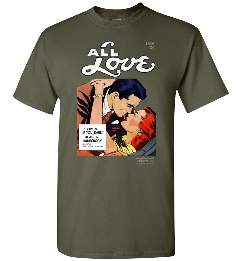 All Love No.29 T-Shirt (Unisex, Dark Colors)