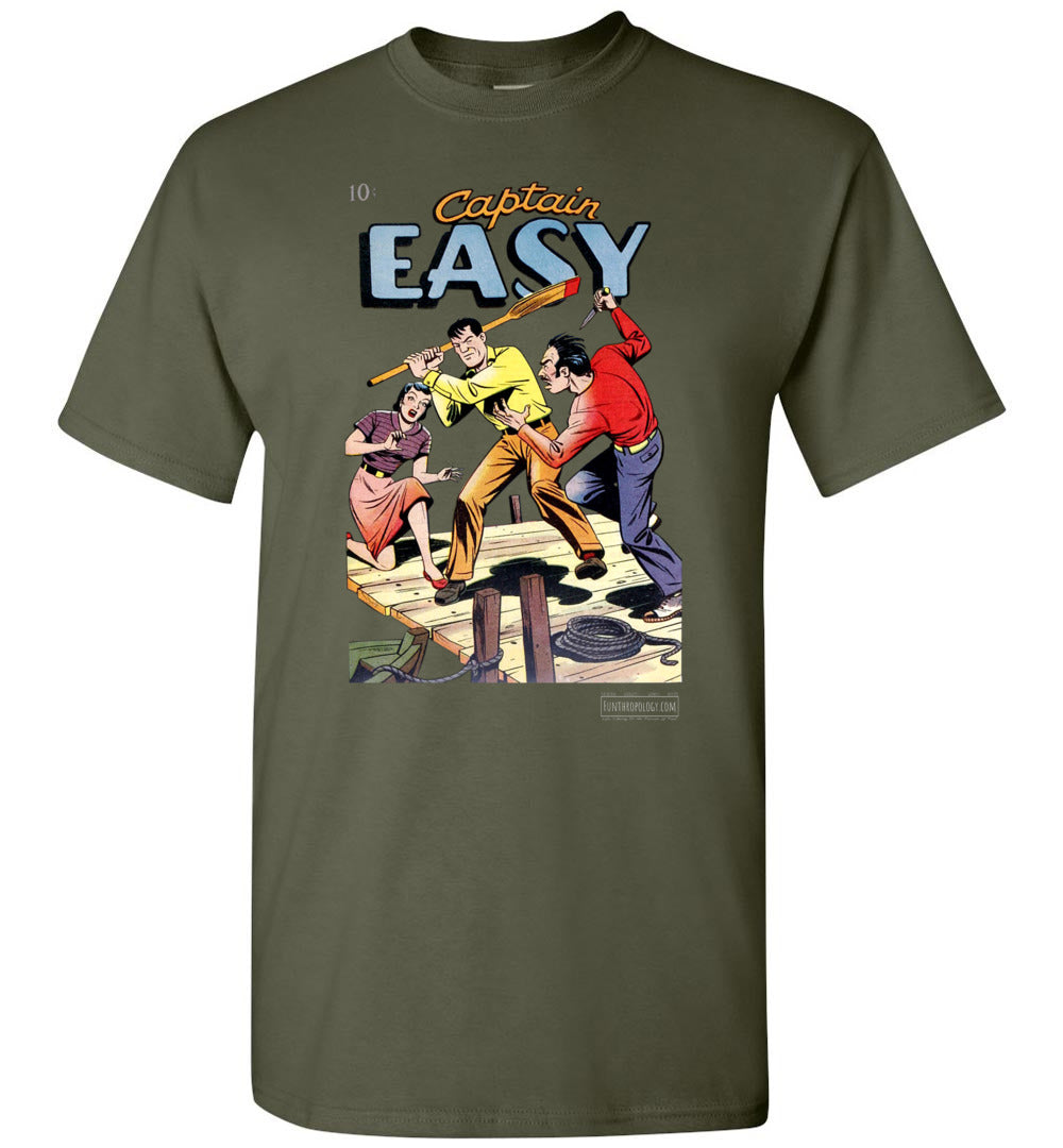 Captain Easy No.15 T-Shirt (Unisex, Dark Colors)
