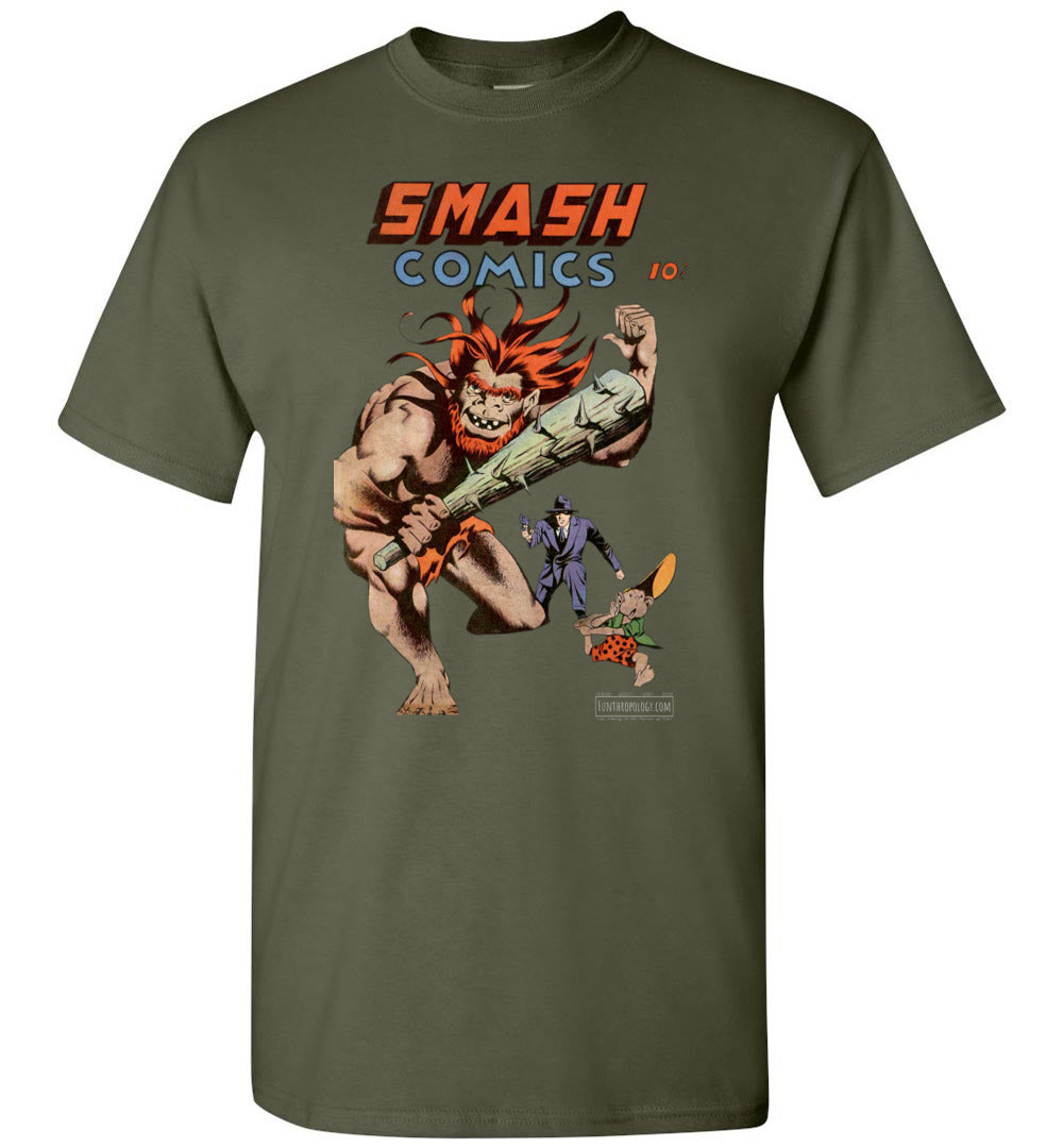 Smash Comics No.38 T-Shirt (Unisex, Dark Colors)