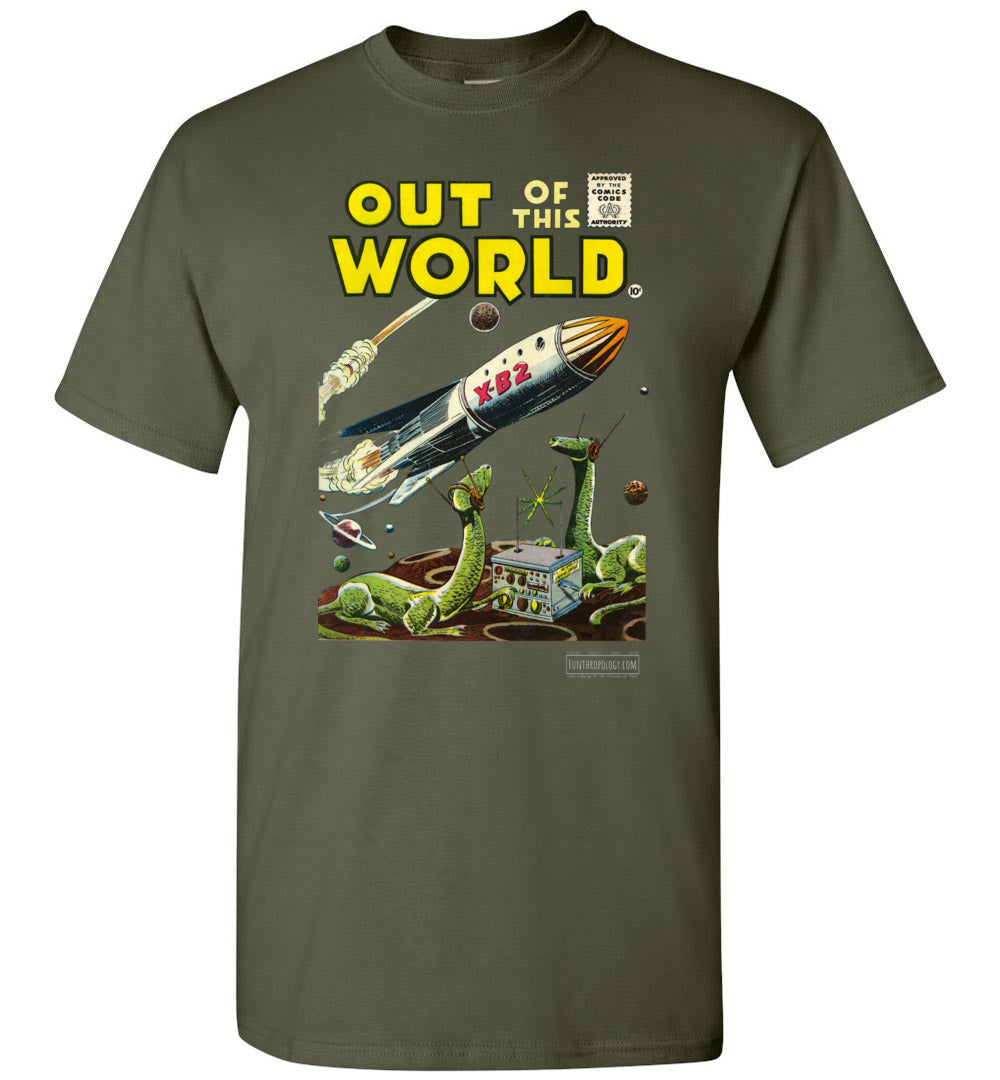 Out Of This World No.1 T-Shirt (Youth, Dark Colors)