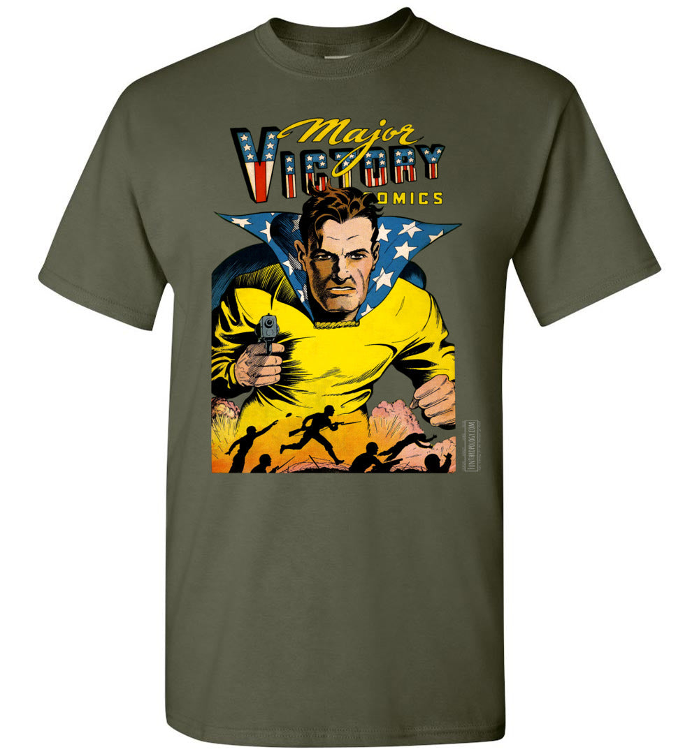 Major Victory Comics No.2 T-Shirt (Unisex, Dark Colors)