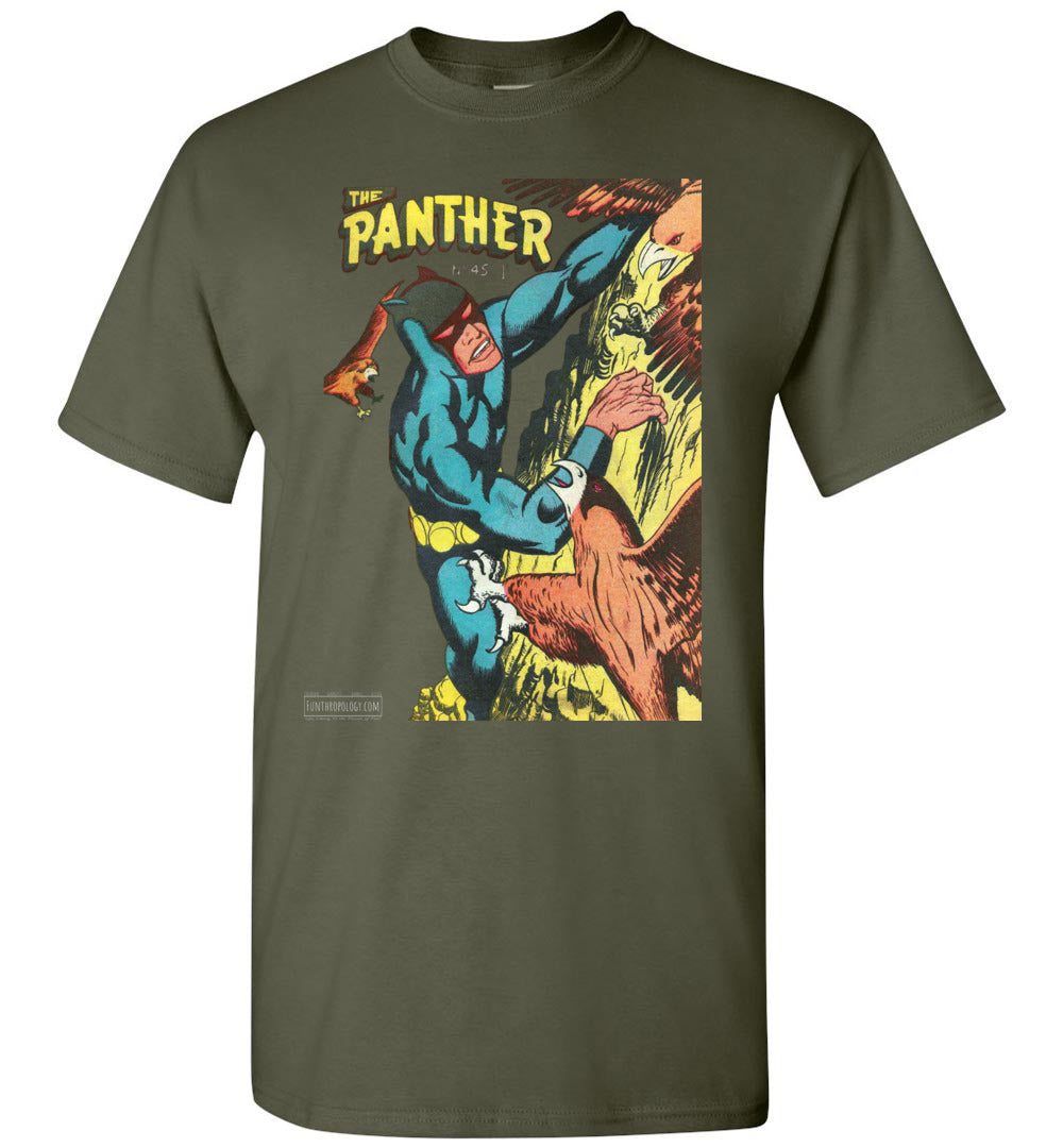 The Panther No.45 T-Shirt (Unisex, Dark Colors)