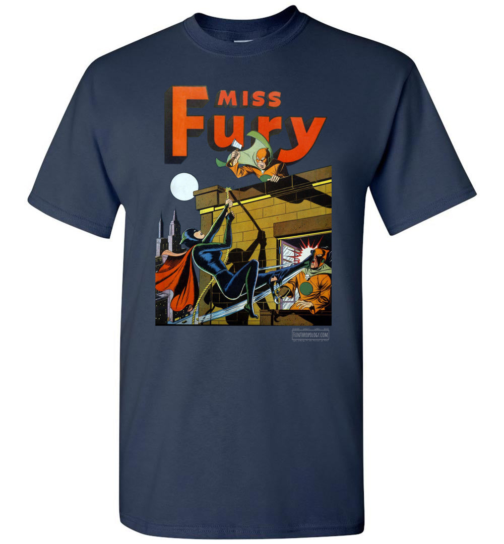 Miss Fury No.2 T-Shirt (Unisex, Dark Colors)