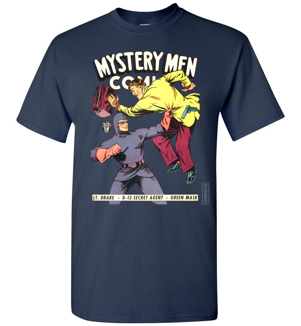 Mystery Men Comics No.18 T-Shirt (Youth, Dark Colors)