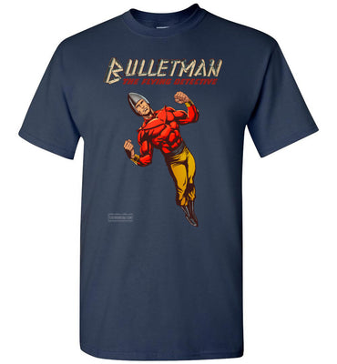 Bulletman Reimagined T-Shirt (Unisex, Dark Colors)