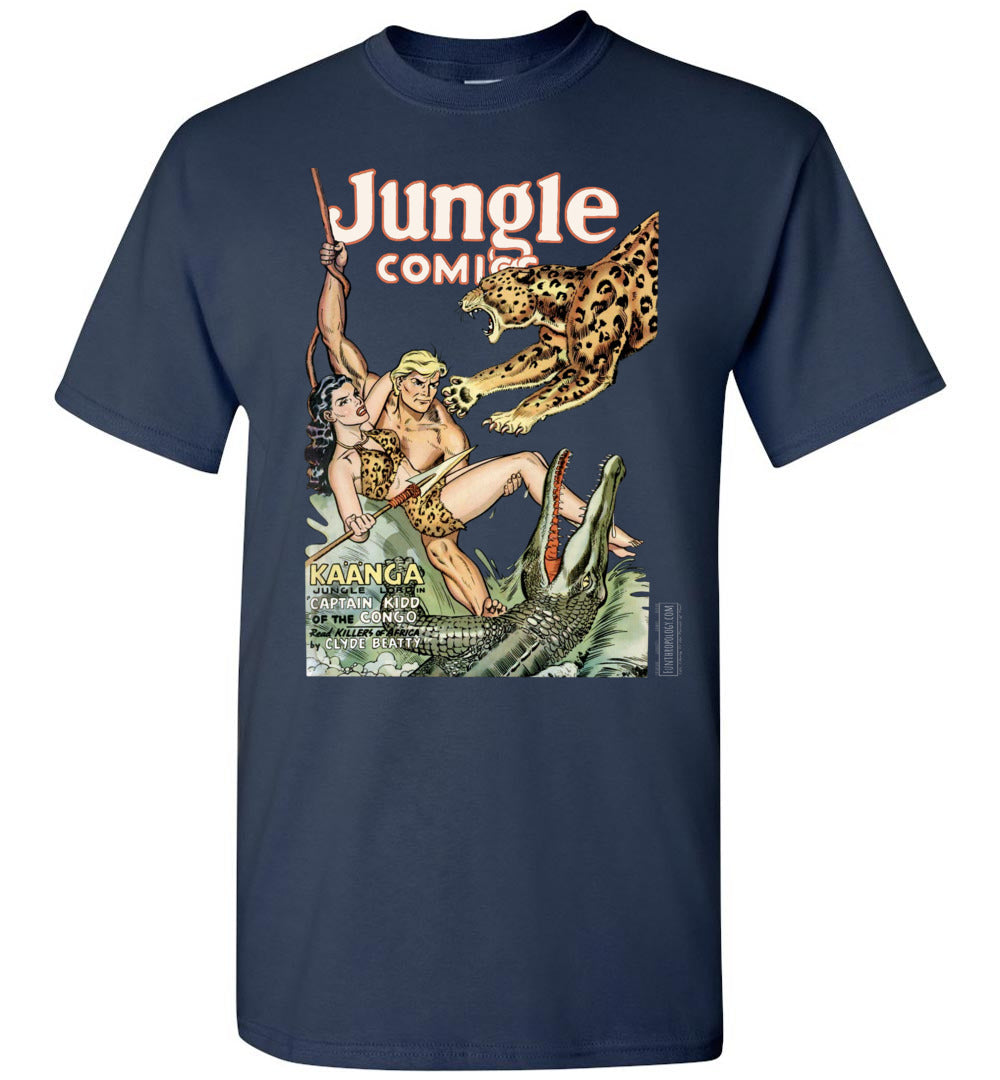 Jungle Comics No.139 T-Shirt (Unisex, Dark Colors)