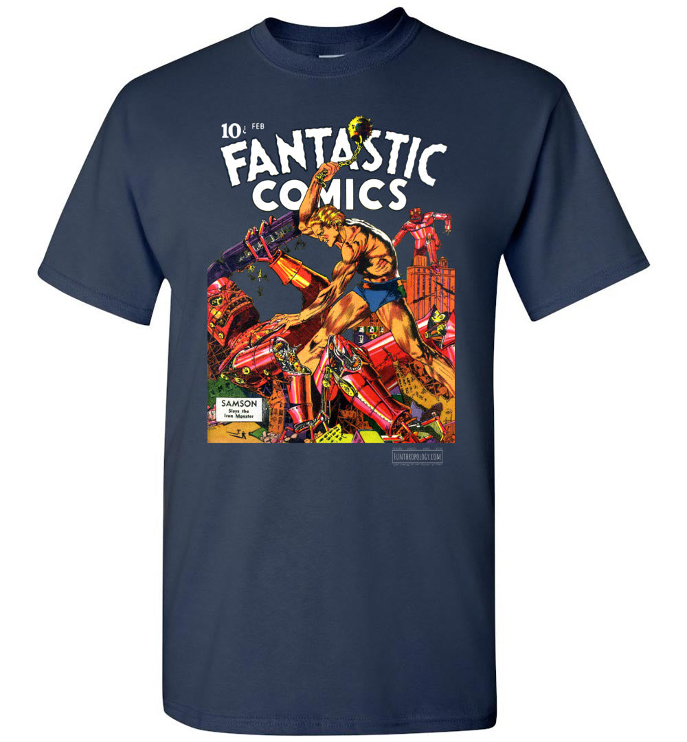 Fantastic Comics No.3 T-Shirt (Unisex, Dark Colors)