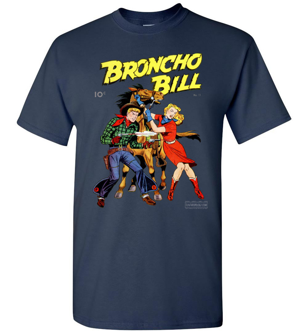 Broncho Bill No.11 T-Shirt (Unisex, Dark Colors)