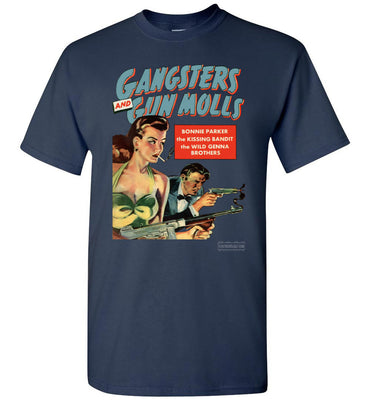 Gangsters And Gunmolls No.2 T-Shirt (Unisex, Dark Colors)