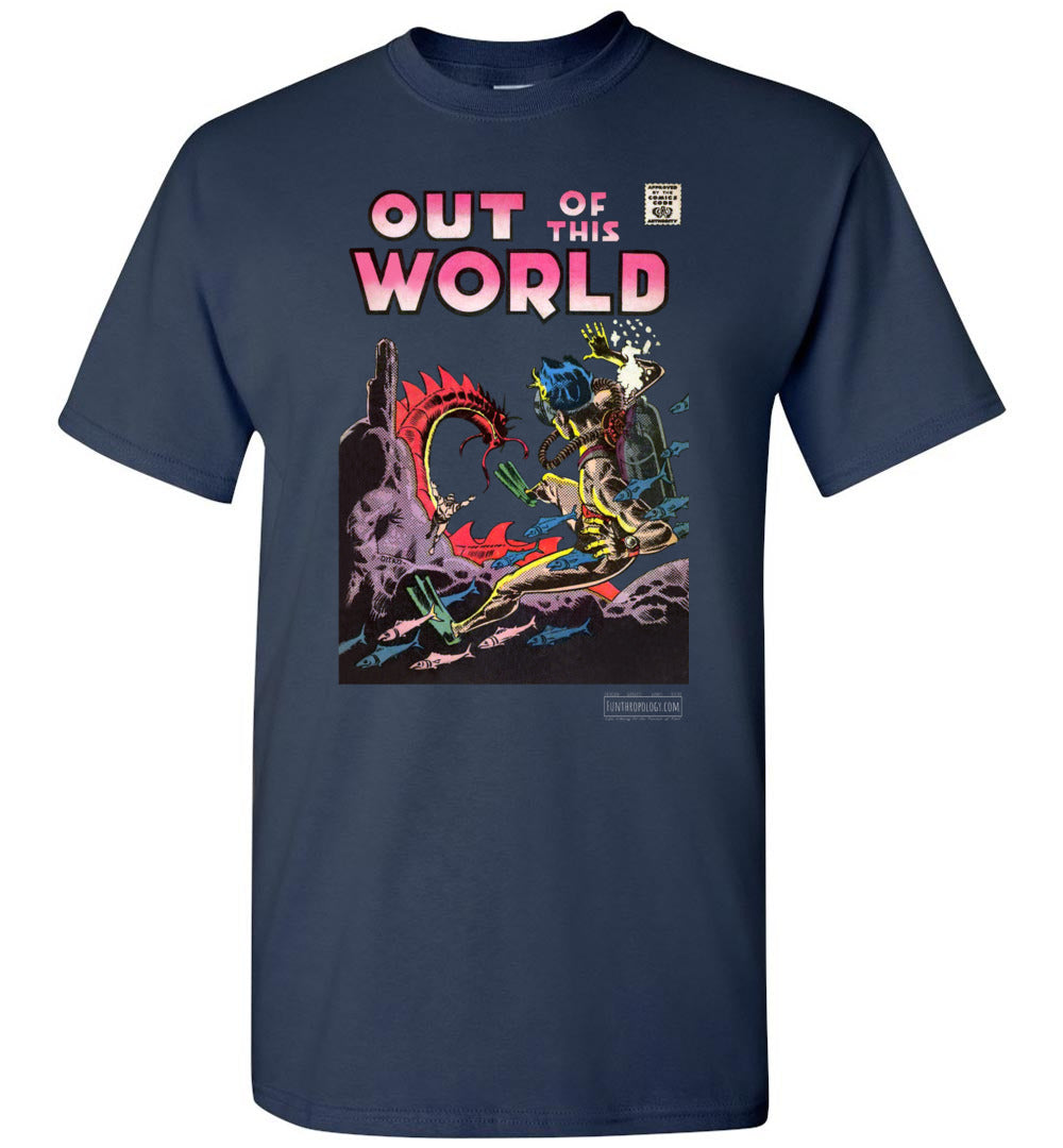 Out Of This World No.5 T-Shirt (Unisex, Dark Colors)