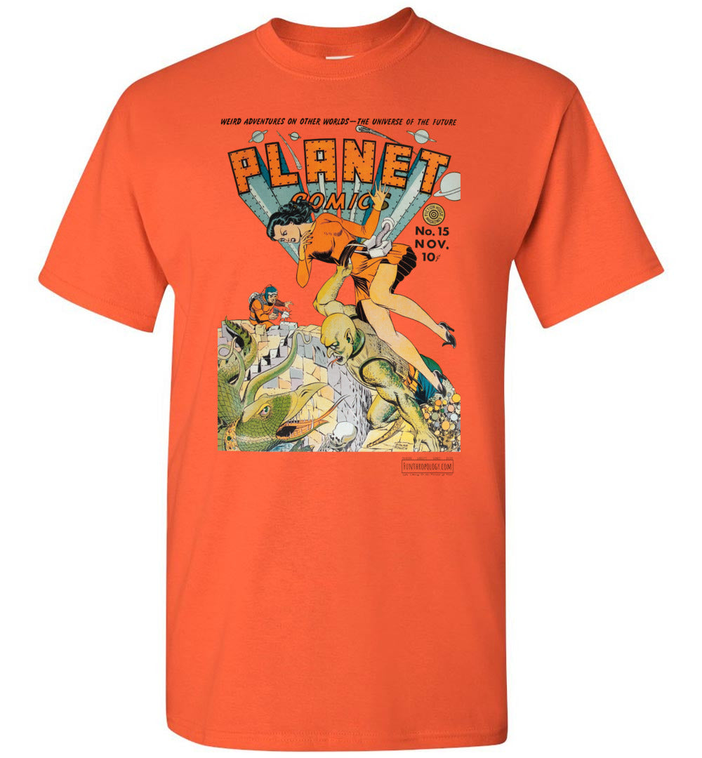 Planet Comics No.15 T-Shirt (Unisex, Light Colors)
