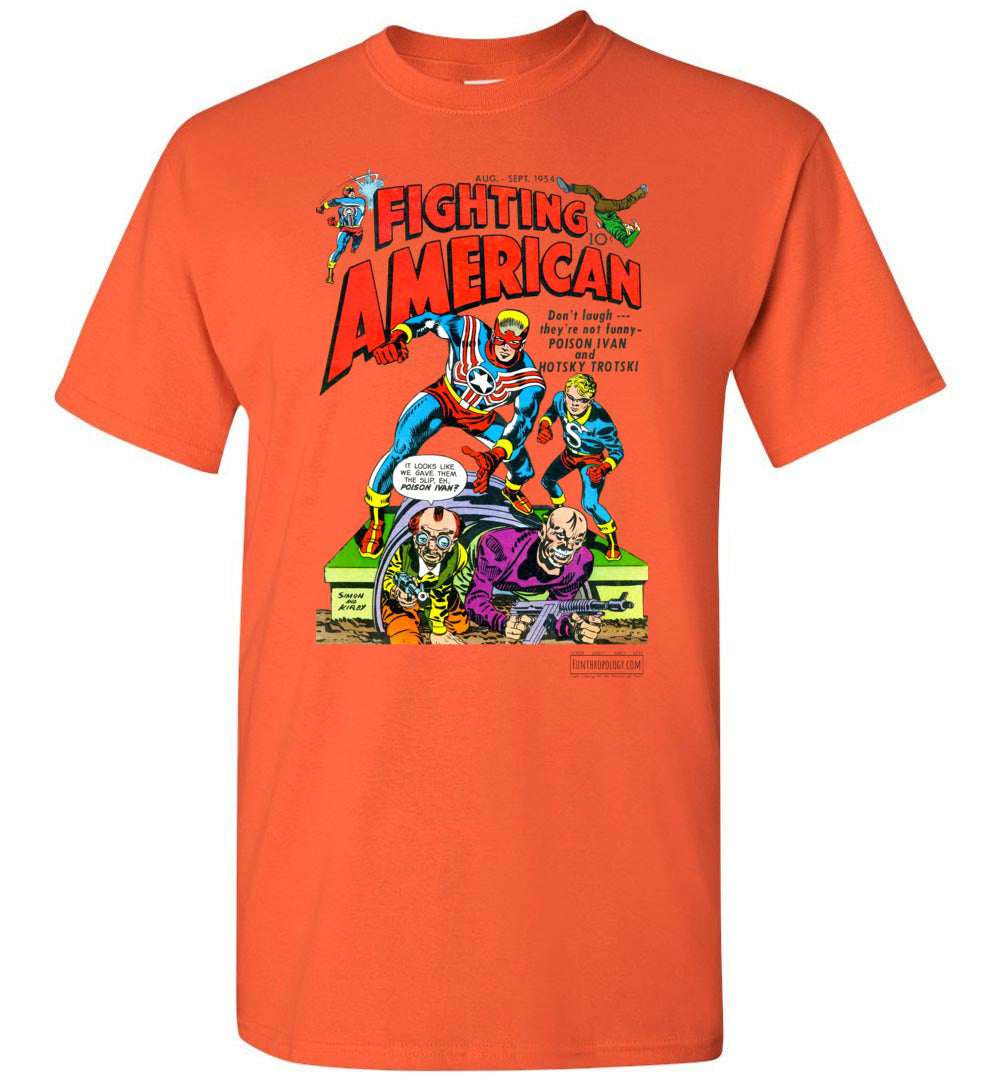 Fighting American No.3 T-Shirt (Unisex, Light Colors)