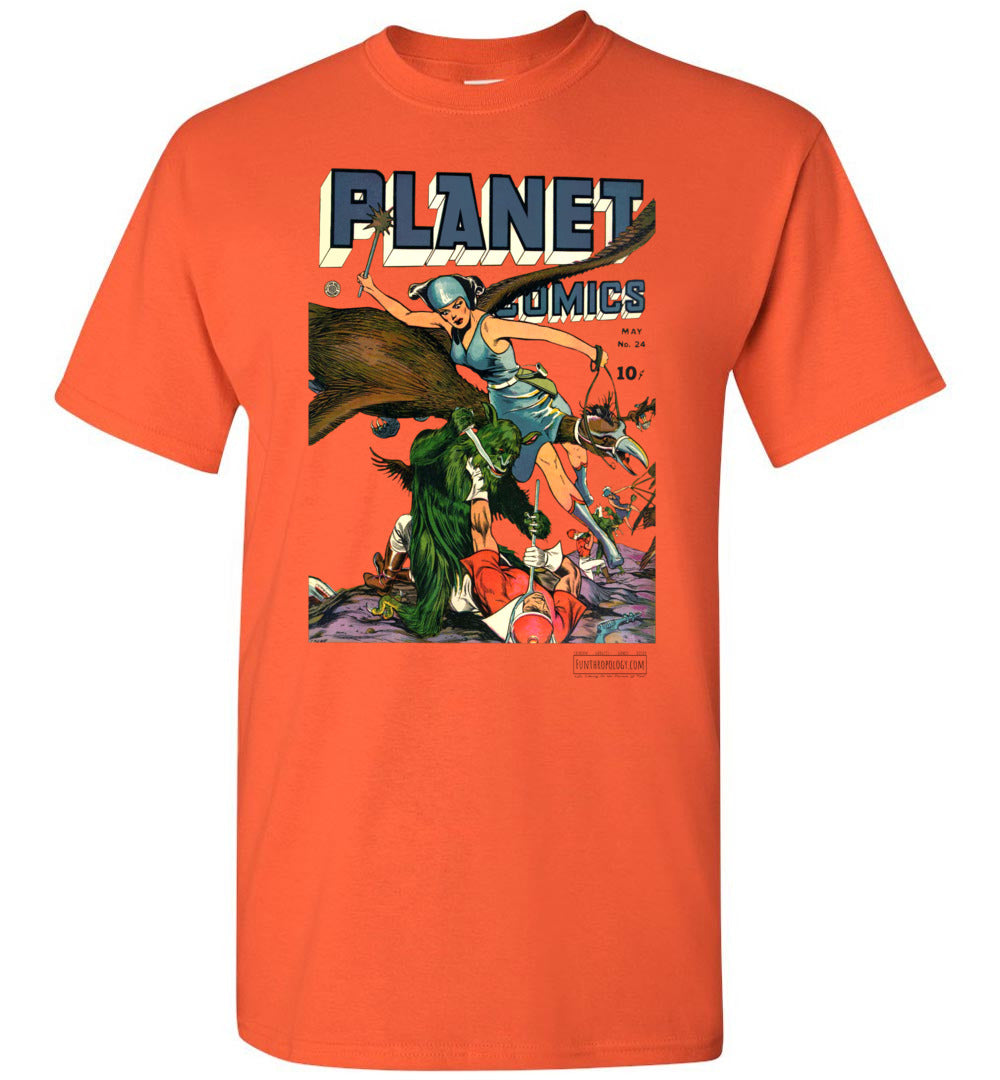 Planet Comics No.24 T-Shirt (Unisex, Light Colors)