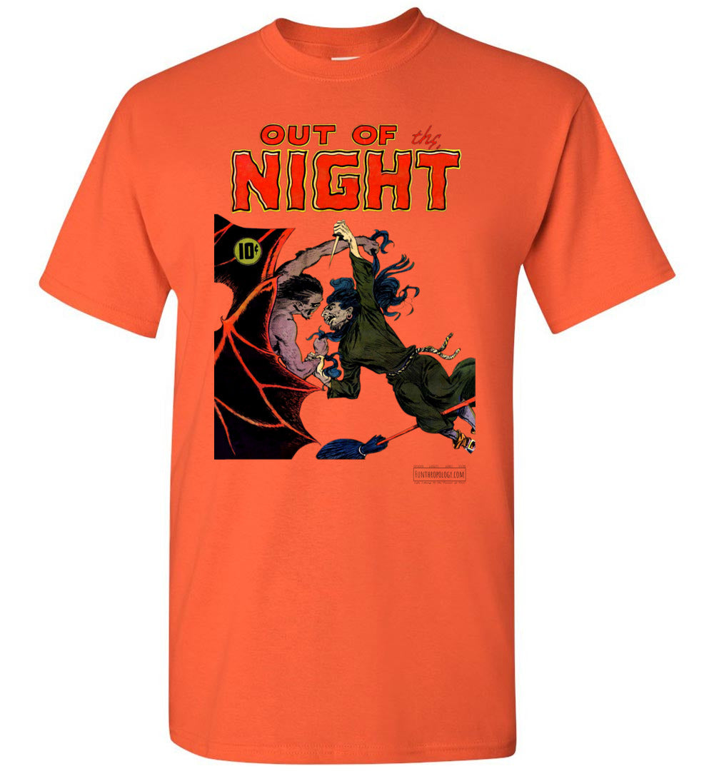 Out Of The Night No.4 T-Shirt (Unisex, Light Colors)