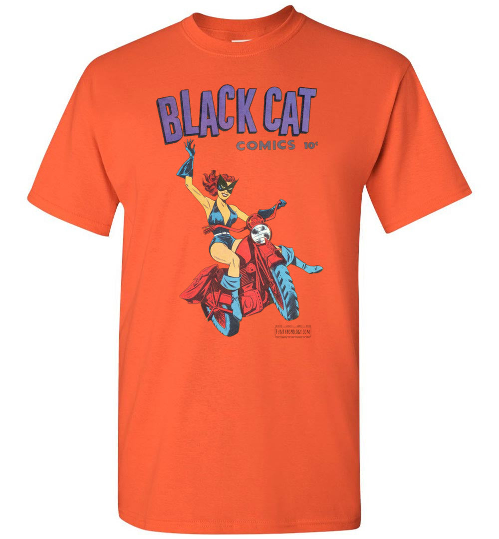 Black Cat No.1 T-Shirt (Youth, Light Colors)