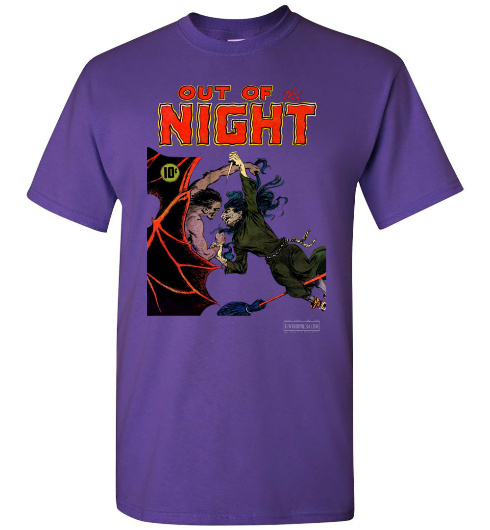 Out Of The Night No.4 T-Shirt (Youth, Dark Colors)