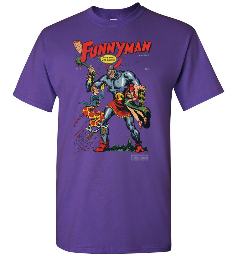 Funnyman No.4 T-Shirt (Unisex, Dark Colors)