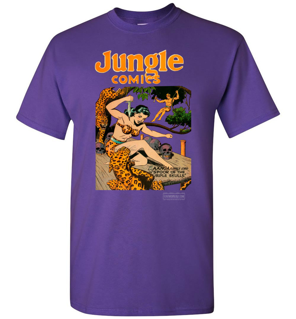 Jungle Comics No.66 T-Shirt (Unisex, Dark Colors)