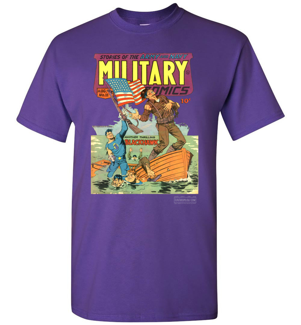 Military Comics No.11 T-Shirt (Youth, Dark Colors)