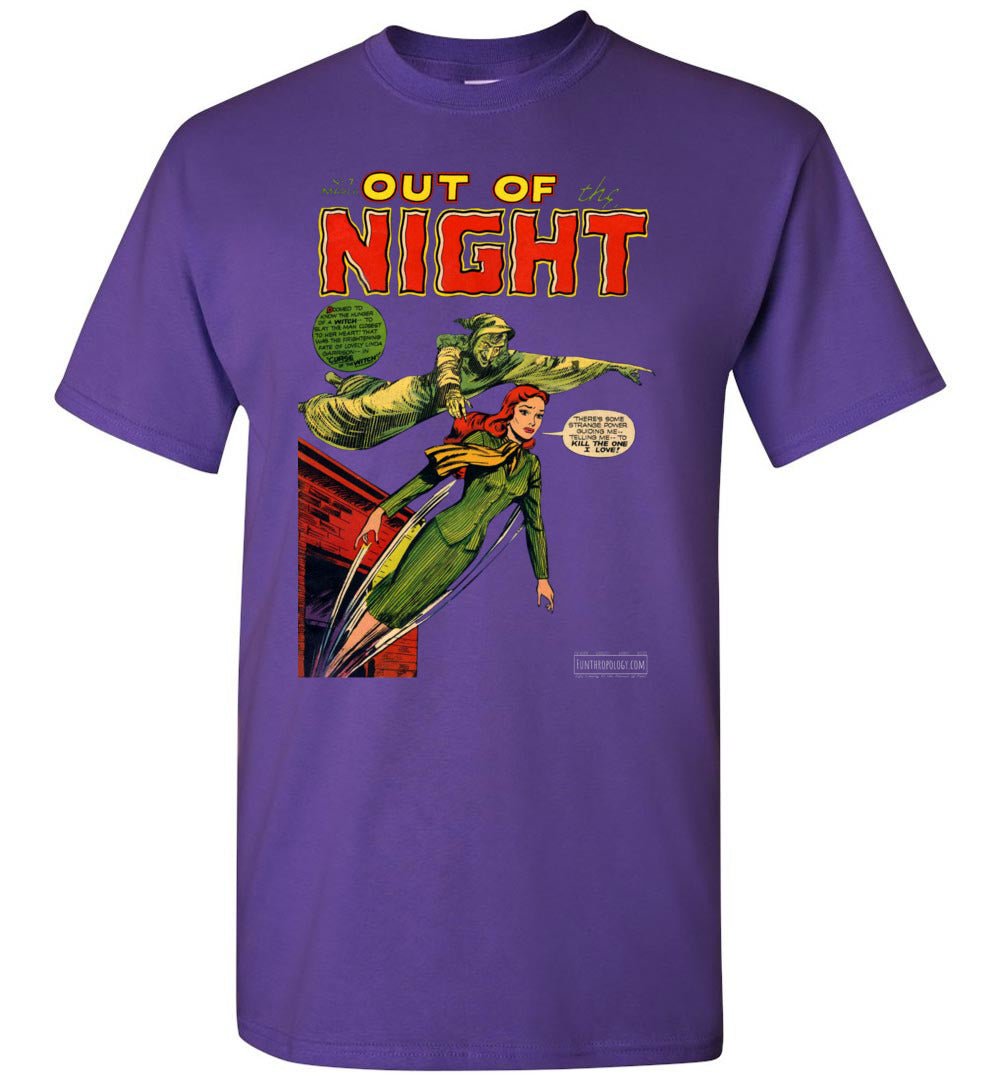 Out Of The Night No.7 T-Shirt (Youth, Dark Colors)