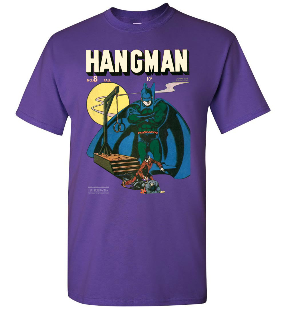 Hangman No.8 T-Shirt (Unisex, Dark Colors)