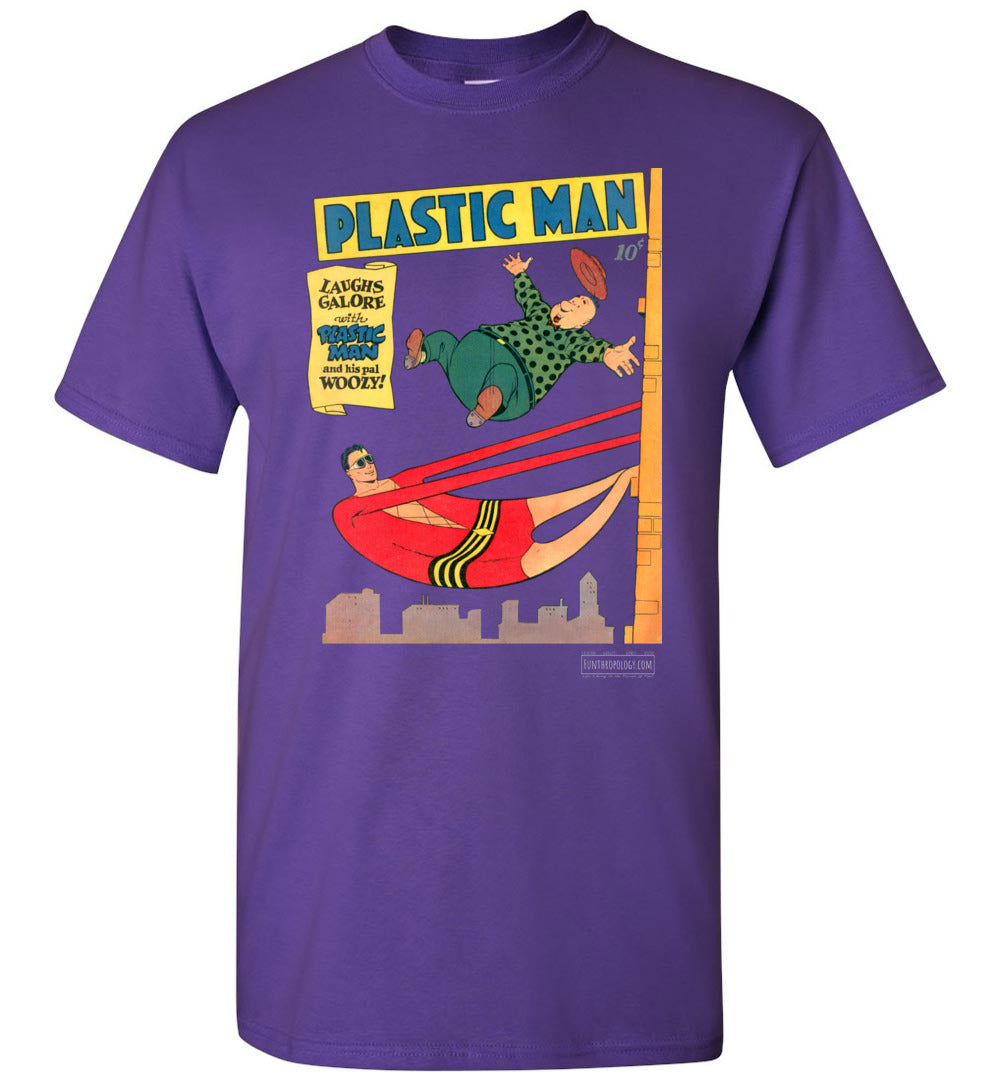 Plastic Man No.4 T-Shirt (Unisex, Dark Colors)