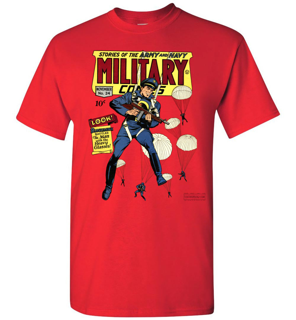 Military Comics No.24 T-Shirt (Unisex, Light Colors)