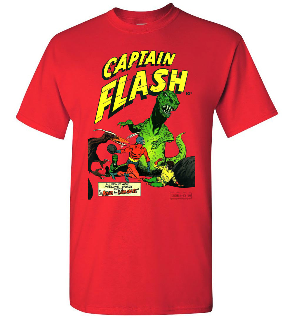 Captain Flash No.3 T-Shirt (Unisex, Light Colors)