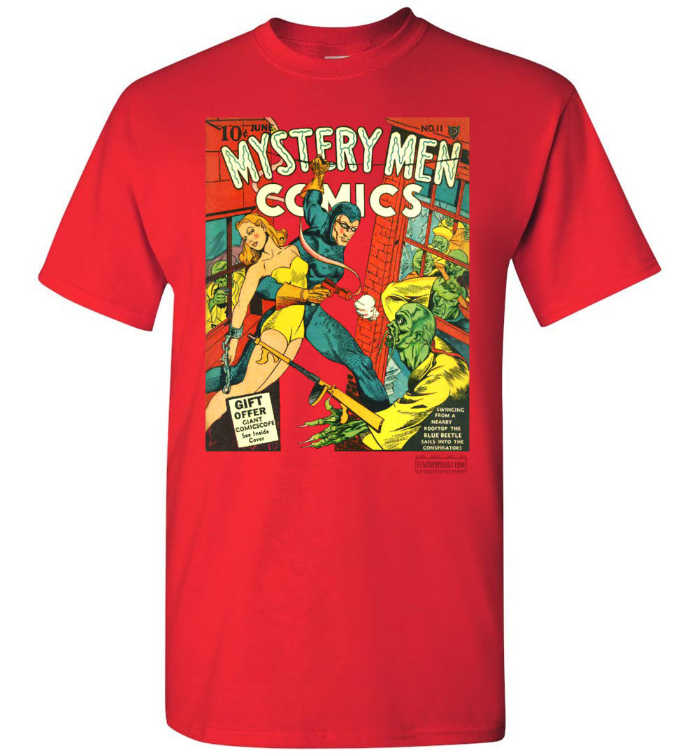 Mystery Men Comics No.11 T-Shirt (Unisex, Light Colors)