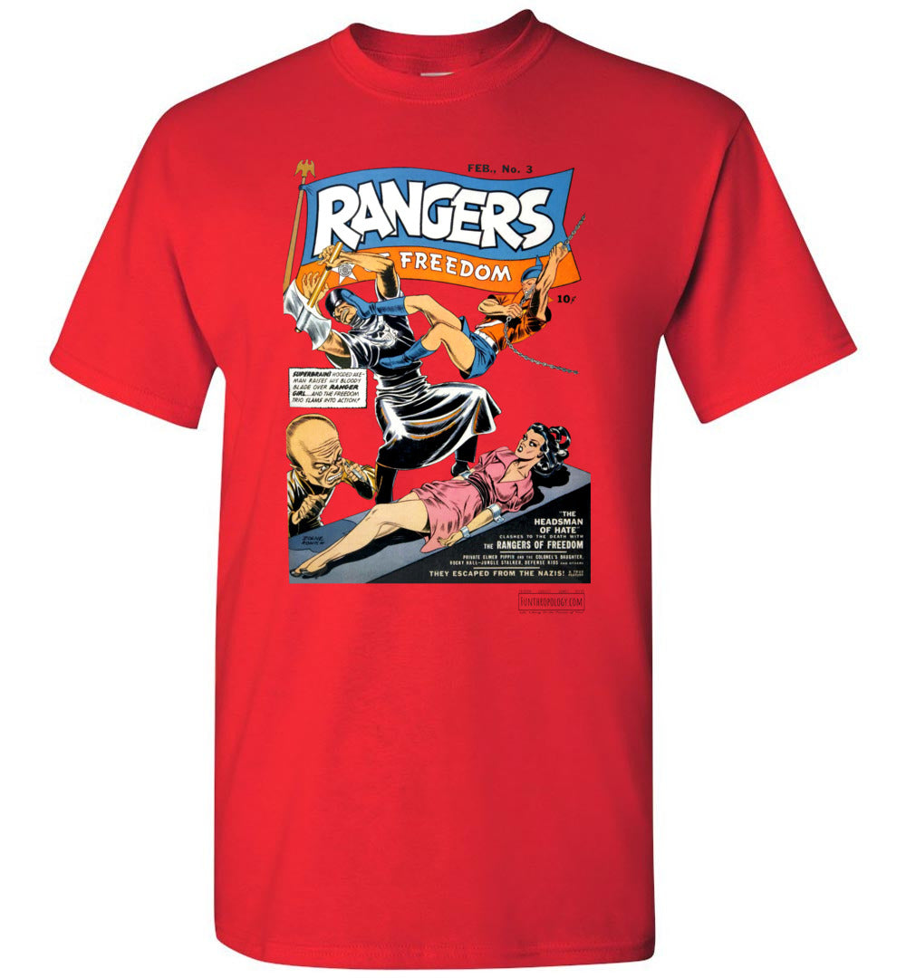 Rangers Comics No.3 T-Shirt (Unisex, Light Colors)