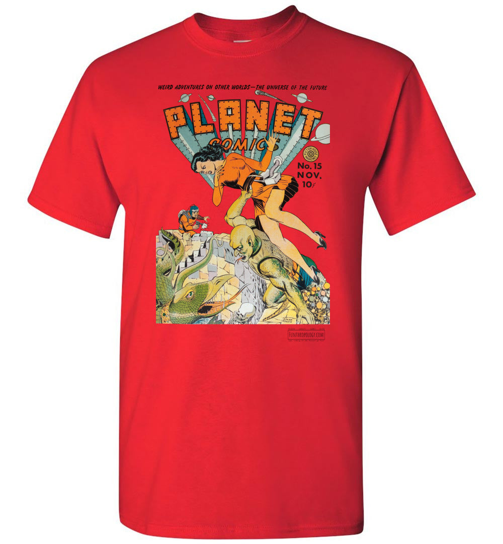 Planet Comics No.15 T-Shirt (Youth, Light Colors)