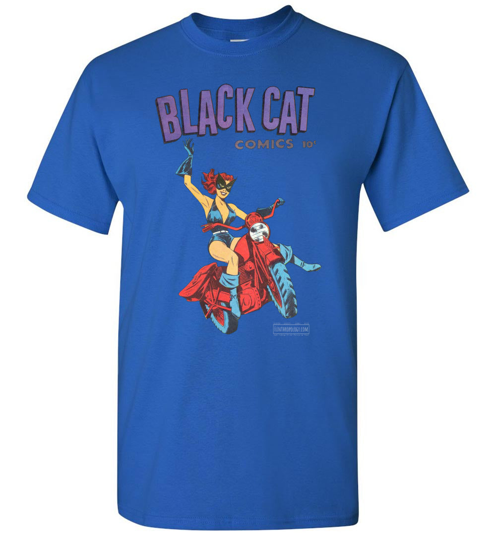 Black Cat No.1 T-Shirt (Youth, Dark Colors)