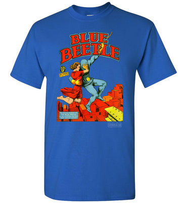 The Blue Beetle No.4 T-Shirt (Unisex, Dark Colors)