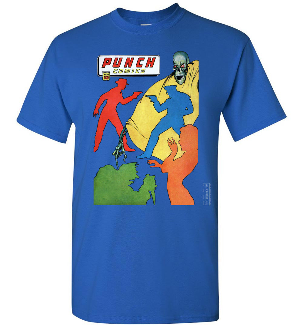 Punch Comics No.11 T-Shirt (Unisex, Dark Colors)