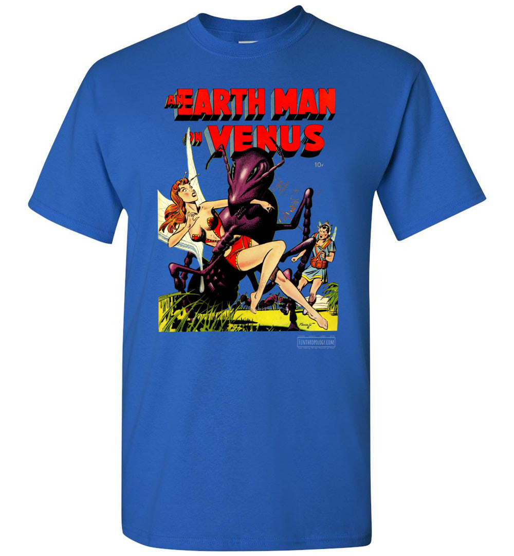 An Earth Man On Venus No.1 T-Shirt (Youth, Dark Colors)