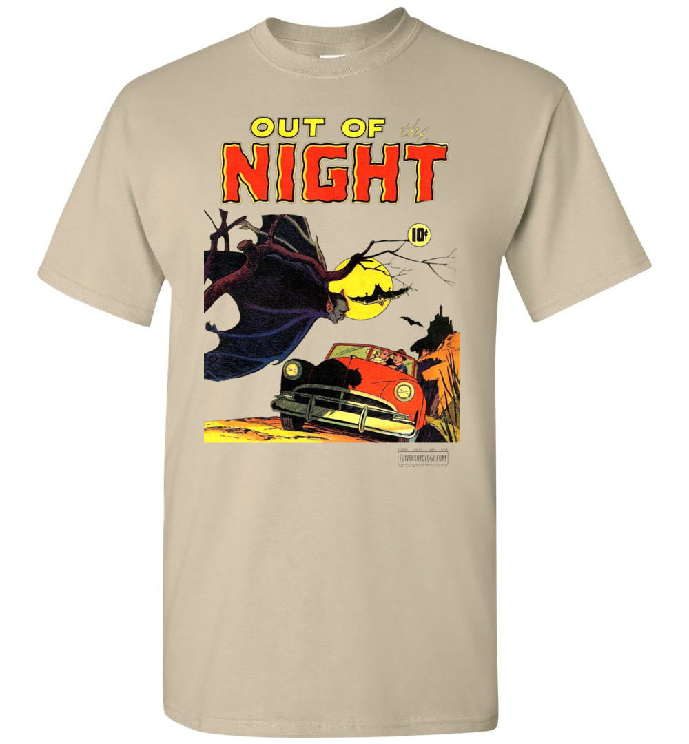 Out Of The Night No.1 T-Shirt (Unisex, Light Colors)