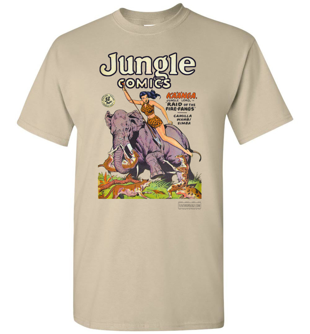 Jungle Comics No.110 T-Shirt (Unisex, Light Colors)