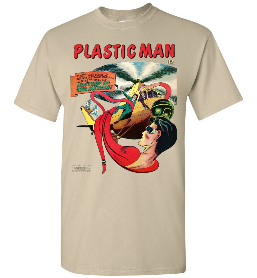 Plastic Man No.11 T-Shirt (Unisex, Light Colors)