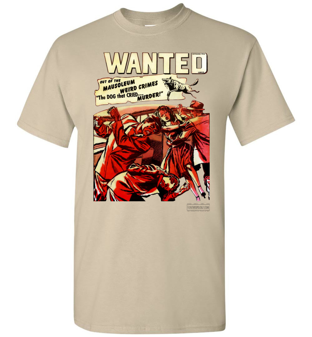 Wanted Comics No.49 T-Shirt (Unisex, Light Colors)
